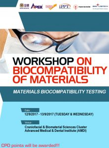 Workshop on Biocompatibility of Materials